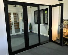 ALUMINIUM BIFOLD DOORS 3 PANEL, NEW 2410 x 2100h, WHITE,  PRE ORDER