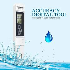 Water Quality Test Meter Digital Tool TDS&EC Temperature 0-9990 ppm Measurement