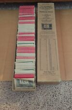 Huge Box of Vtg Varnished Crown Paper Co. PRICE TAGS-Hardware Store Use-5 Cents