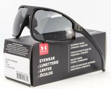 NEW UA UNDER ARMOUR STRIVE SUNGLASSES Satin Black frame / Grey lens
