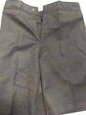 BOYS SCHOOL SHORTS (ZIP+CLIP) UNIFORM GREY 15-16