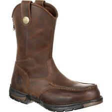 Georgia Boot Афины без застежек стальной носок рабочие ботинки