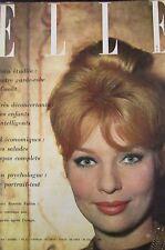 MAGAZINE ELLE N° 762 de 1960 ANNETTE VADIM ST TROPEZ MODE HAUTE COUTURE ROCHAS