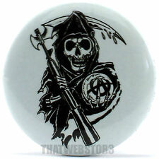"Sons of Anarchy Reaper 1.25"" Button ~ Officially Licensed ~ NEW"