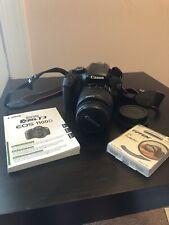 Canon EOS Rebel T3 1100D Digital SLR Camera & Lens