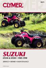 Suzuki LT230 & LT250 1985-1990 Workshop Manual