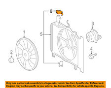 Radiator DENSO 221-9208 fits 12-15 Scion iQ