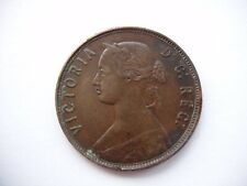 Newfoundland, Canada Queen Victoria.1865 Large Cent  Extremely Nice Grade