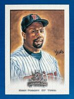 Kirby Puckett #132 (2002 Donruss) Diamond Kings Sample Card, Minnesota Twins
