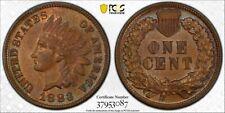 1883 1C PCSG MS62BN Indian Head Cent -RicksCafeAmerican.com