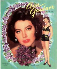 Vintage 1952 Ava Gardner Paper Dolls Laser Reproduction~Uncut Lo Price No.1 Sell
