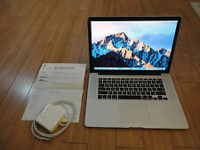 "FAST 15"" Apple MacBook Pro Retina 2.3 GHz Core i7 256GB SSD HD 8GB RAM DUAL GFX"