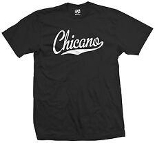 Chicano Script & Tail T-Shirt - Latino Latina Hispanic Latin Lingo - All Colors
