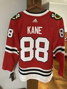 Patrick Kane Chicago Blackhawks Adidas Authentic Jersey 50 M $225  BNWT MINT