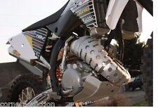 "Ricochet Universal 2 Stroke Exhaust Pipe Guard 888 16.5"""