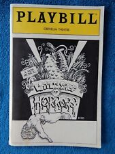 Little Shop Of Horrors - Orpheum Theatre Playbill - May 1987 - Michael Meloche