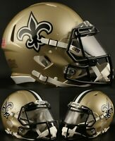 NEW ORLEANS SAINTS NFL Riddell SPEED Full Size Replica Football Helmet