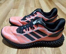 Adidas 4D RUN 1.0 4D Runner 'Black Signal Coral' FW6839 MEN SIZE 9.5/ WOMEN 10.5