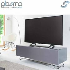 Alphason CRO2-1200CPT Chromium Concept Grey TV Stand with Speaker Mesh Front