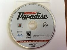 Burnout Paradise - Disc Only (Sony Playstation 3; PS3)