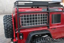 Stainless Steel Window Grilles for Traxxas TRX-4 Landrover D110 Scale Crawler x2