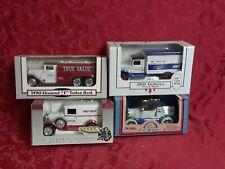 4 rare diecast ERTL TRUE VALUE truck BANK  ford model vtg gift hardware deco dad