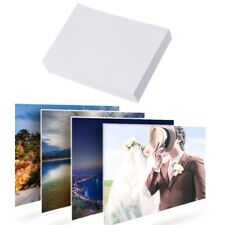 """100Pcs Glossy 5"""" 3R Photo Paper For Inkjet Printers Photographic Graphics Output"""