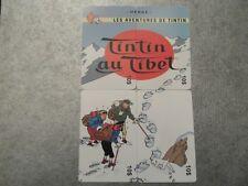 PUZZLE 4 TELECARTES NEUVES - TINTIN AU TIBET - 500 exemplaires