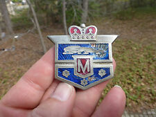 1949 1950 1951 Canadian FORD MERCURY MONARCH HOOD ORNAMENT Emblem Badge Blue