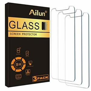 Glass Screen Protector for iPhone 12/iPhone 12 Pro 2020 6.1 Inch 3 Pack