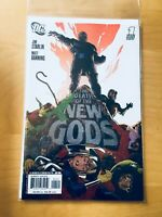 DEATH OF THE NEW GODS 1, NM (9.2 - 9.4), 1ST PRINT, RYAN SOOK VARIANT.
