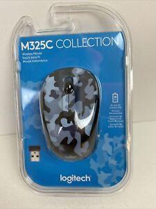 NEW Logitech M325C Collection Wireless Mouse M325C Camo Blue