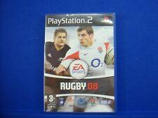 ps2 RUGBY 08 EA Sports Playstation PAL UK ENGLISH Version