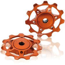 XLC a02 schaltrölchen 11 dientes Orange desviador papel pulley schaltwerksröllchen