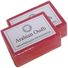 Savon arabe Oudh Naturel 2 x 125g parfumé à la glycérine Song of India