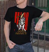 Amon Amarth Men Black T-Shirt Death Metal Band Tee Shirt Vikings Swedish Metal 2