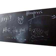 Removable Chalkboard Self Adhesive Wall Sticker Kids Drawing Planner Blackboard