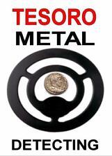 TESORO METAL DETECTING KEYRING -DETECTOR KEYRING, GREAT GIFT. IMAGE SIZE 5 x 3.5
