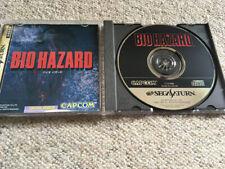 SEGA Saturn: Biohazard/Resident Evil - Jap. Ver.