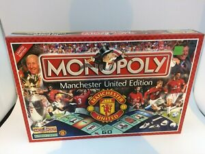 MONOPOLY MANCHESTER UNITED EDITION LIMITED EDITION 2003 HASBRO WINNING MOVES