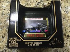 Geoff Bodine #7 Exide Batteries Nascar 1:64 Racing Champions 1994 1 of 20,000
