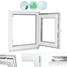 Kunststofffenster Fenster Kunststoff 2-fach Glas + ISOGLAS + Dreh-Kipp Premium