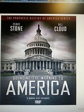 """PERRY STONE-""""Sounding the Warning to America-DVD/with Perry Stone & Bill Cloud"""