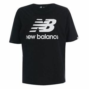 Women's New Balance Essentials T-Shirt in Black
