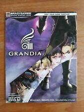 GUIDE GRANDIA III 3 BRADYGAMES