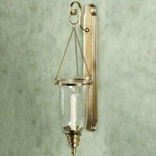 Hurricane Candle Wall Sconce Set