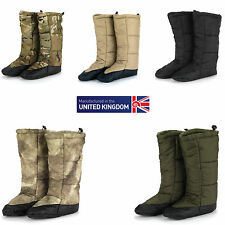 Snugpak Snugfeet Insulated Tent Boots Available in ATACS and Multicam- All Sizes