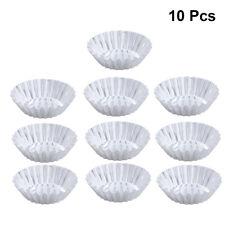 10Pcs Mini Huevo Tarta Cupcake Pastel Galletas Molde herramienta de Repostería Molde Molde Forrado De Aluminio