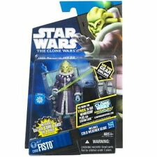 Star Wars The Clone Wars CW60 Kit Fisto Cold Weather Gear ,Action Figure NEW
