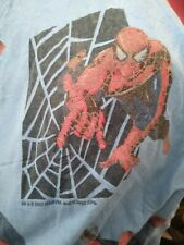 Marvel Spider-Man Spiderman Twin Flat sheet & Fitted sheet 2002 Marvel RARE